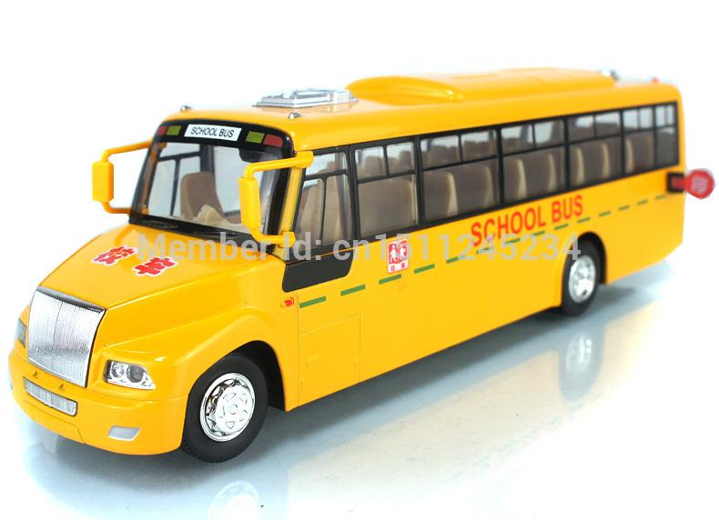 Alloy Model Car Toy Mini School Bus Big Nose Yellow School Bus Car Toy Vehicles Model Pull Back Flashing Car Kid's Gift(China (Mainland))