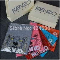 3d 8 color shirt summer short-sleeve T-shirt cartoon tiger print t shirt slim male short-sleeve clothes giv shirt