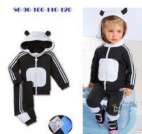 Retail Free shipping 2014 spring autumn new brand baby clothing set children boys hoody+Pants 2pcs clothes tracksuit in stock