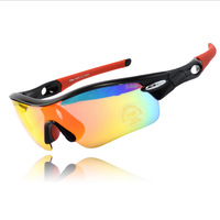 Polarized Cycling Sun Glasses Outdoor Sports Bicycle Glasses Prescription Safety Cycling Glasses 5 Lens Lenses Polarized GLasses
