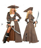 professional design modern caribbean naughty sexy pirate costume fancy cloth