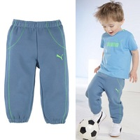 Wholesale 2014 new Boy t-shirts+pants 2pcs clothing set brand high quality free shipping