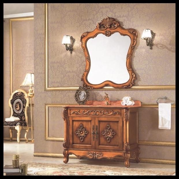 Online kopen wholesale washing machine cabinets uit china washing machine cabinets groothandel - Antieke stijl badkamer kast ...