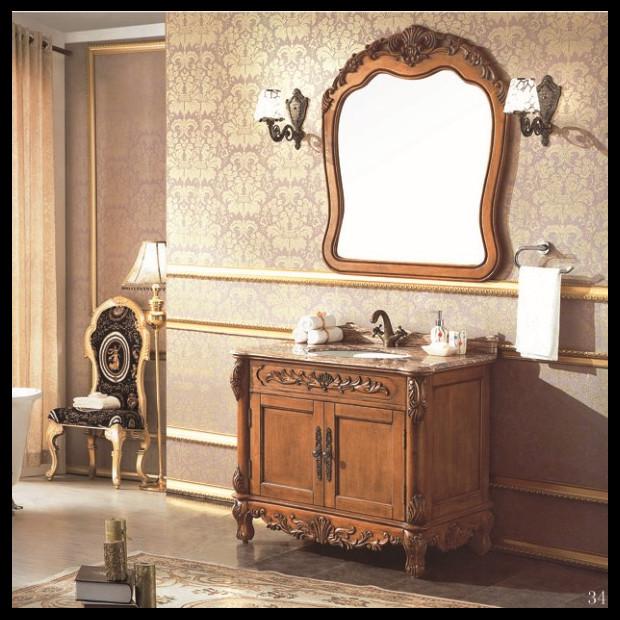 super quality floor standing bathroom cabinet mirror bathroom cabinet