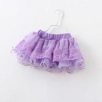 HOT Girls gauze embroidery  miniskirts baby tutus