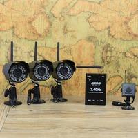 box camera *3 + mini camera  Digital wireless camera:audio+ video + playback + Motion Detection = set of problem-solving