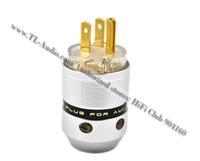 SONARQUEST  SQ-GP28 Gold plated US  AC power plug   with original box 10pcs