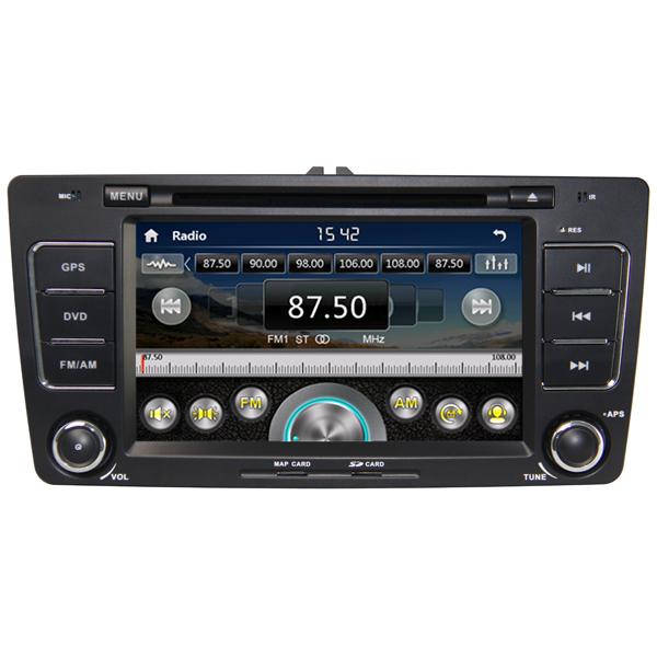 In-Dash Skoda Octavia Car DVD Navigation with GPS 3G USB(China (Mainland))