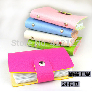 Women men business card case credit card bag credit card ID holder bank case card holder