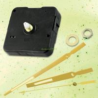 EG6090 Metal Golden Luminous Hour Second Minute Hands Quartz Clock Movement For DIY