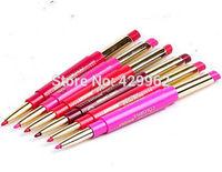 (6pcs/lot) brand  waterproof Batom  matte red color long lasting  lipstick lipliner lot brand  makeup set