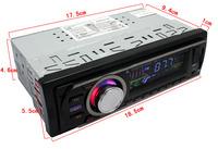 """Hot sale  2.5"""" car usb car player   fm transmitter  stereo mp3 Embedded usb radio car"""