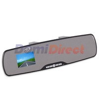 High Quality Rear View Mirror Full HD 1080P+Night Vision+2.7 Screen Car DVR Camcorder Vehicle Digital Video Recorder G300 AV Out