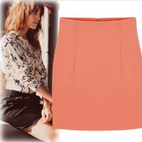2014 New Arrival S-XL A-line Skirts Womens A Line Zipper Skirt Ladies Skirt Free Shipping