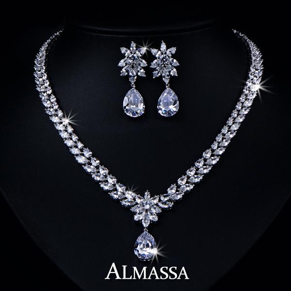 Ювелирный набор Almassa AAA + CZ FSSP062