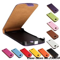 Genuine Leather Case For HTC One S Flip Cover Case + protective film free shipping
