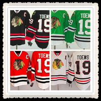 Free Shipping Wholesale #19 Jonathan Toews Jersey,Chicago Blackhawks Red/Black/Green/White Jerseys,Numbers And Name Are Sewn On