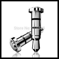10pcs/lot 360 Klick quick button smart 3.5mm key for smart phone dustproof plug for andriod Smartphone dust plug