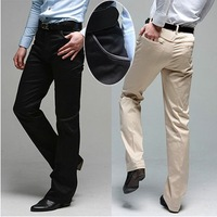 2014 special offer time-limited mid broadcloth sale winter autumn men's casual pants slim straight suit trousers style men grey