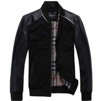 free shipping men's casual jacket , new 2014 men dress patchwork jackets for spring outwear 49