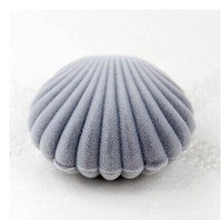 6*5.5*3CM  Shell Design Wedding Valentine's Day Gift Lover's Ring Jewelry Packing Box  .