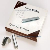 """15MMU 15mm Alfamacchine Hardwood Wedges / Vnails, Pack of 5700 , Underpinner V-Nails  AL 15mm  #5/8"""" XIONGYE Wedges V-nails"""