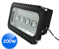 Wholesale 2pcs/lot 200W led flood light high brightness Bridgelux chip brand led floodlights AC85-265V