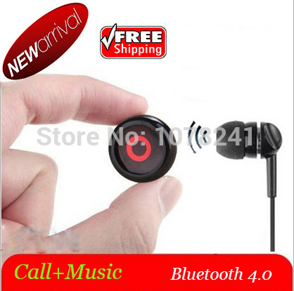 2015 Free Shipping Mini Stereo Wireless Bluetooth 4.0 Headset World's Smallest Handsfree Headset Earphone for Samsung Iphone(China (Mainland))