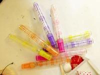 10ml Plastic  Perfume Fragrance Oil Atomizer spray Bottle / glass bottle spray 2258-7
