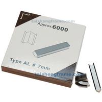 """7MMU 7mm Alfamacchine Hardwood Wedges / Vnails, Pack of 5700 , Underpinner V-Nails  AL 7mm  #1/4"""" XIONGYE Wedges V-nails"""