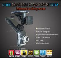 Luxury Pro New 2014 Supper night vision Car DVR Recorder Original Ambarella +5MP + Full HD 1080P 30FPS + H.264+GPS+ TUV FC NSAI