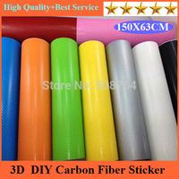 Freeshipping 1piece 150*63cm Car Auto Fibre Sticker Vinyl Sheet For Cruze/Equalizer/Chevrolet//Mobile/Laptop carbon fiber vinyl