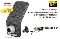 Original Mini Ambarella A2S60/OV2710 Black Box Car DVR 1080P+GPS/TF Card 8GB Backup + G-sensor Registrator Car Video Recorder