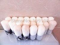 Wholesale!!!(20pcs/lot)10pcs silver color and 10pcs zebre print elegant diamond makeup brush