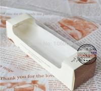 freeshipping-Perspective Window Macaron Cardboard Box Gift Package,cookie cardboard box,moon cake biscuit box,50PCS/LOT