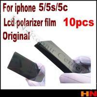10pcs wholesale 5 5G 5S 5c original  LCD Polarizer Film Polarization Polaroid Polarized Light Film for Apple iPhone 5 5G 5S 5c
