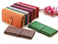 ZS Wholesale Lowest Price Women Designer Wallets High Quality 2014 Europe H Hasp Famous Brand Purse Women PU Leather Handbag