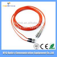 FC to SC 62.5/125um fiber optic patch cord