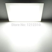 25 watt piazza led luce di soffitto da incasso cucina bagno lampada ac85-265v ha condotto giù luce bianco caldo / freddo bianco di trasporto libero(China (Mainland))