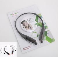 Bluetooth wireless head set stereo  Black white neck hang wireless computer head set Free / Drop Shipping