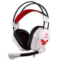 Sades A30 gaming headset durable Game headphone computer game headset with microphone USB sound card 7.1 channel