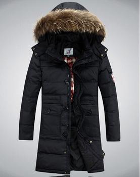 Бесплатная доставка! Мужская мода вниз куртка свободного покроя вниз парки x-долго зимняя куртка открытый человек платье 360