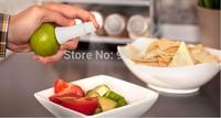 FREE SHIPPING 2Pcs 2014 new Cooking Tools Lemon Fruit Citrus Lime Orange Stem Sprayer Juice Maker Juicer Kitchen Supplies