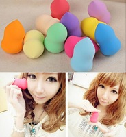 Best-salling 3pcs/lot 2014 New Bottle Gourd Sponge Flawless Smooth Pro Beauty Makeup Powder Puff Make Up Tool AY671429
