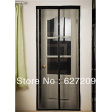 1pc Netting Mesh Screen Magnets Mesh Insect Fly Bug Mosquito Door Curtain Net Netting Mesh Screen Magnets  Hot!(China (Mainland))