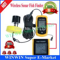 Portable Wireless Sonar Fish Finder Depth Underwater Fishing Camera Sounder Alarm Transducer Fishfinder 100m Free Shipping