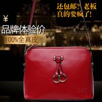 2014 new hot women geuine leather women bag fashion women handbag fashion shell bag real leather women bag