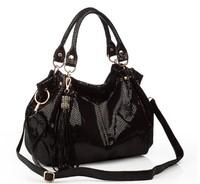 New 2014 women genuine leather handbags famous shoulder bags women designers brands bag vintage tote bags Q9 Hot sell