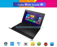 "Windows 8 Cube iWork10 U100GT Quad Core 10.1"" Tablet PC Intel Atom Z23740D 1.33GHz 2GB 32GB 2.0MP Dual Cameras HDMI"