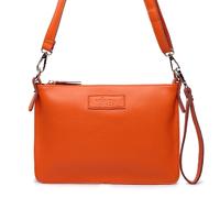 2014 New Fashion women bag envelope messenger bag geuine leather handbags free shipping